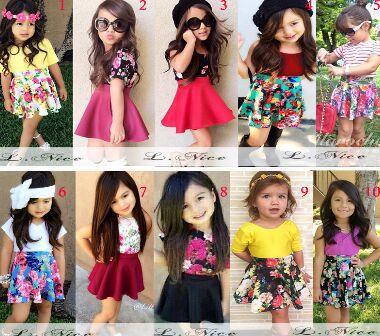 15d8d4ff0 baby girl clothing set summer nova kids brand girls clothing sets for 12  Months-4 Years Girls Princess Party Print Formal Dress