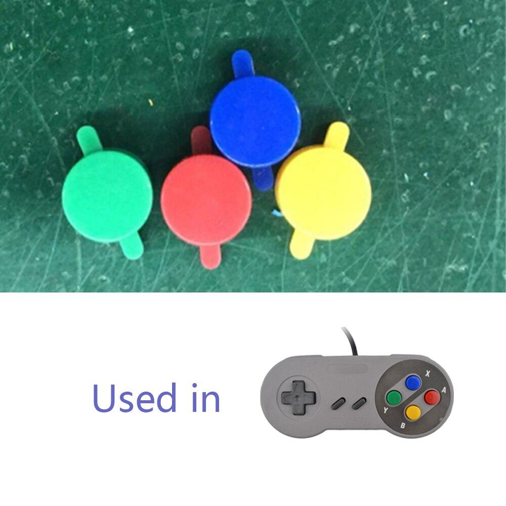 Купить с кэшбэком 1set Replacement Buttons for SNES for SFC Controller