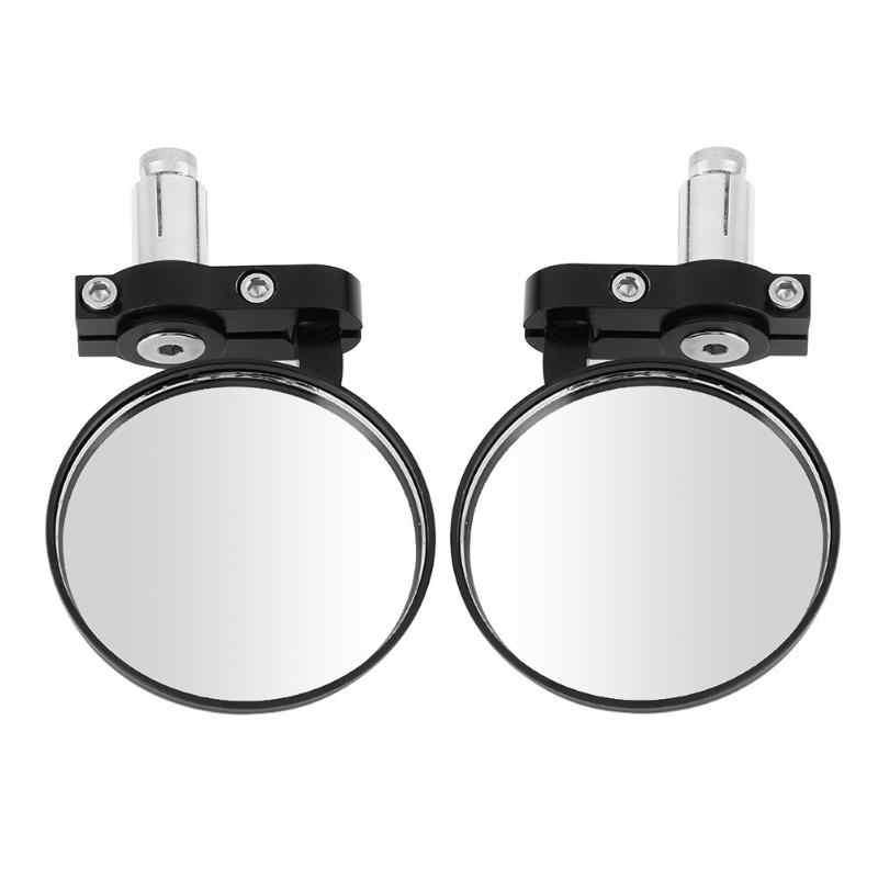 Brand New High Quality Motorcycle  Retro Non-folding Handle Rearview Mirror Reversing Mirror 22-caliber Handlebar Universal
