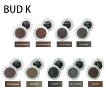 BUD K Brand Brown Color Eyebrow Enhancers Maquiagem Makeup Waterproof Eye Brow Filler Beverly Hills Pomade Gel 9PCS/SET