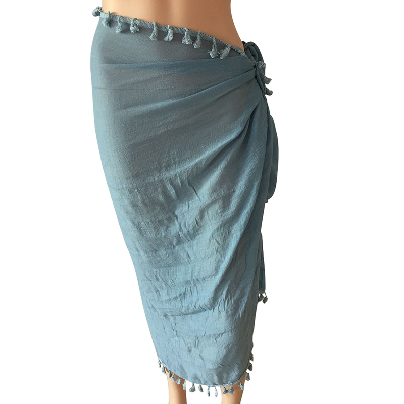 COCKCON Women Swimwear Bikini Beach Wear Cover Up Swimsuit Wrap Skirt Dress Beach Skirts
