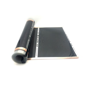 Image 5 - 20m2 Electric Heating Film 50cm 80cm 100cm Width Infrared Floor Heating Film with Wifi Room Thermostat
