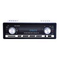 De alta Calidad Reproductor de Radio de Coche Reproductor de Radio de Coche Reproductor de MP3 FM Kit de Coche Manos Libres Bluetooth En El Tablero de Control Remoto