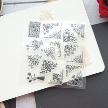 Royal Frame Patterns Design Clear Transparent Stamp Silicone Stamps As Scrapbooking Decoration DIY Card Paper Gift Use