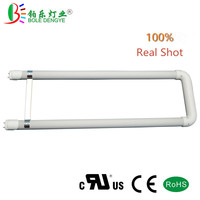 2ft LED T8 U Bend Tube U Shaped T8 LED Tube Bulb G13 18W Replace 40W Fluorescent Lamp 2700 6500K UL CUL for LED Office Lighting