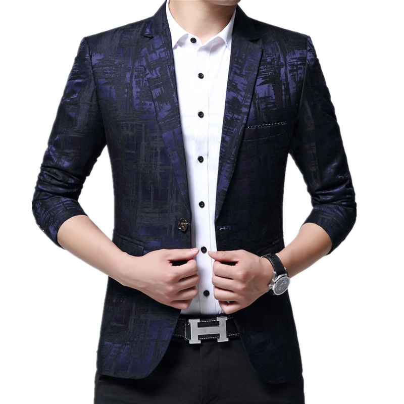 Batmo 2019 new arrival spring high quality smart casual suits men men s casual blazers men