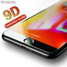 9D radian Protective Glass for iPhone 7 6s 8plus glass Screen protector on XS MAX XR Tempered 9H film