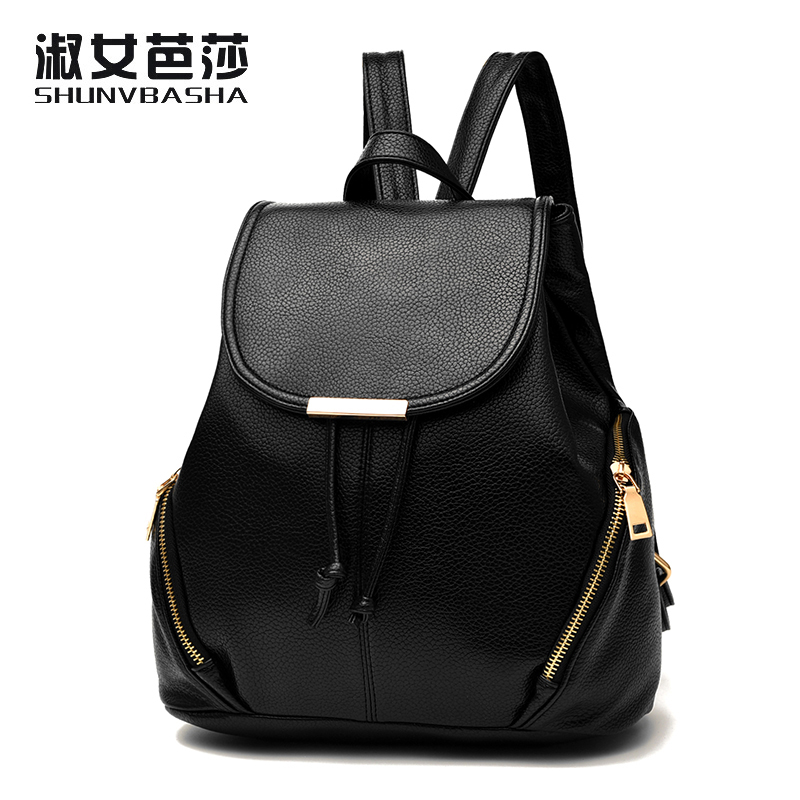2017 Women Backpack Fashion PU Leather School Bags For Teenagers Girls Top handle Shoulder Bag Colorful
