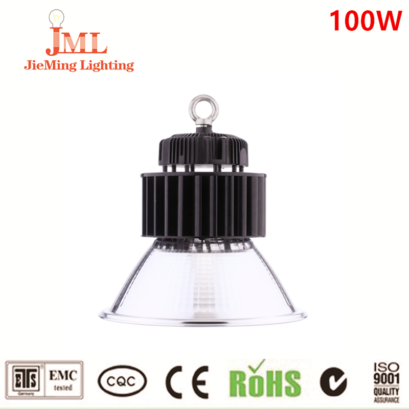 High quality High Bay Led Lights IP54 Meanwell Driver 100w Led High Bay Light 135lm/w 5 Years Warranty