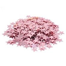 15g 6/10mm Shiny Gold Star Confetti Birthday Party Wedding Table Decoration Acrylic Confetti Sprinkles Christmas DIY Decoration