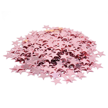 15g 6/10mm Shiny Gold Star Confetti Birthday Party Wedding Table Decoration Acrylic Sprinkles Christmas DIY