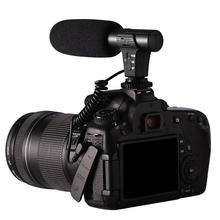 3,5 мм стерео камера микрофон Микрофон VLOG фотография интервью цифровой видео Запись микрофон для Nikon Canon DSLR камеры