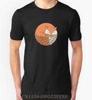 2017 Spring Limited Men T Shirt Fox Short Sleeves Print Cotton Hip Hop Mens S XXXL