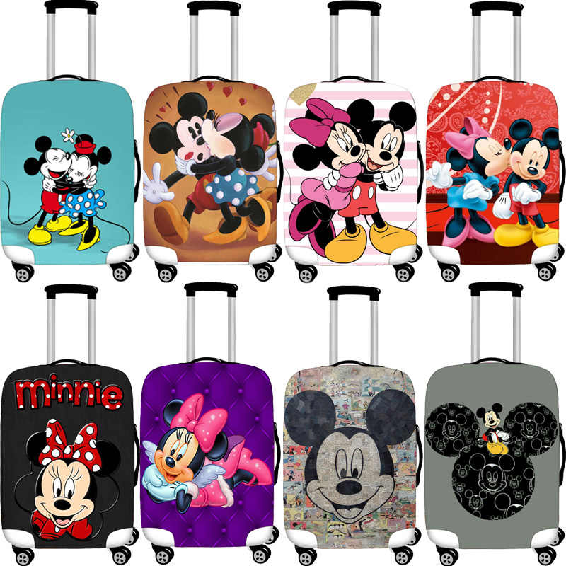 29 Styles Mickey Elastic Luggage Protective Cover Case For Suitcase Protective Cover Cases Covers Xl Travel Accessories Minnie T