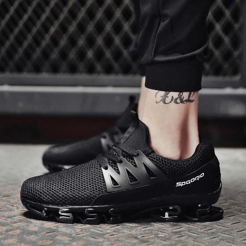Reetene/летние мужские кроссовки; модная весенняя Уличная обувь; мужская повседневная мужская обувь; удобная сетчатая обувь для мужчин; размеры 36-48