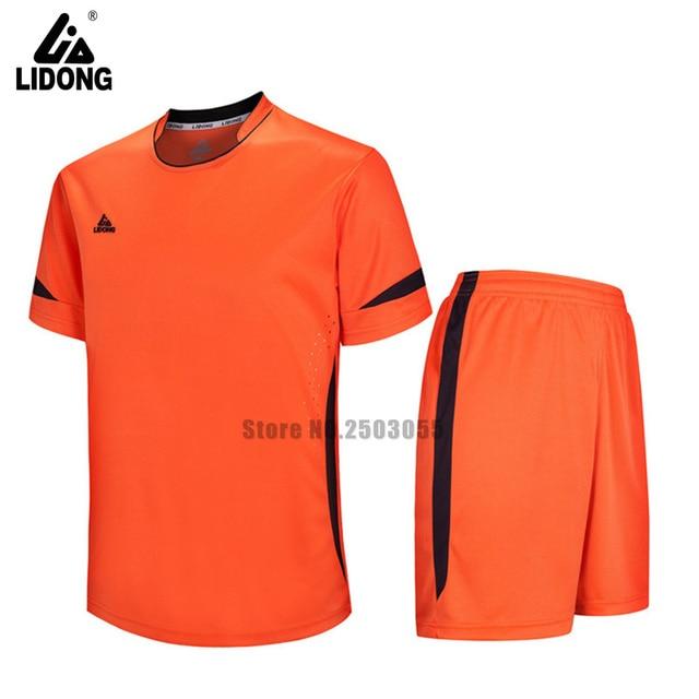 2017 hombres camiseta de fútbol ropa de fútbol sin pintura ropa de deportes  de verano personalizar a24b8c3427f3f