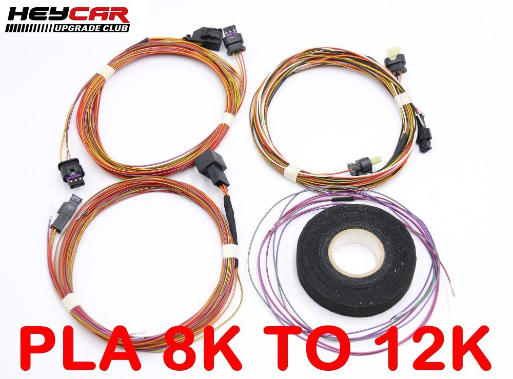 Auto Parking PLA 2 0 3 0 Play Plug 8K To 12K Install Harness Wire For