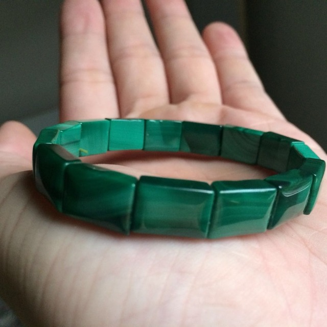 Натуральные малаховые каменные бусы braclet натуральный браслет