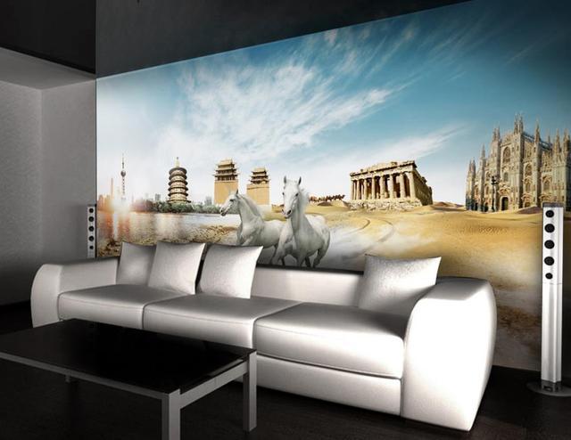 Personalizzare 3d foto sfondi murales per la camera da letto HD ...
