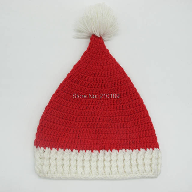 f7758c7e6d4 Mr.Kooky Winter Crocheted Men s Santa Claus Father Xmas Hats With Colourful  Beard Handmade Christmas