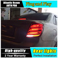 A&T Car Styling for Chevrolet Lacetti Taillights 2008-2014 New Lacetti LED Tail Lamp Rear Lamp DRL+Brake+Park+Signal led lights