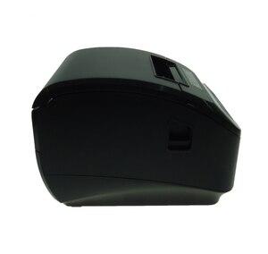Image 2 - Высокое качество 80 мм POS термопринтер чеков, автоматическая режущая машина, скорость печати, USB + порт последовательного/Ethernet, можно выбрать