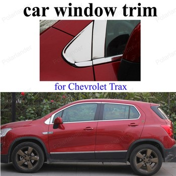 Stainless Steel  Window Trim Decoration Strips For C-hevrolet T-rax Auto Accessories Car Styling