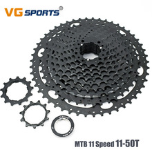 VG Sports 11 Speed 11-50T Mountain Bike Cassette style Flywheel Black Fixie cog 11 Velocidades Super Large Gear 11S 50T 641G