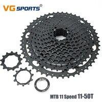 VG Sports 11 Speed 11 50T Fixie cog 11 Velocidade 50T Large Gear Sproket for Shimano Sram Black Mountain Bike Cassette Freewheel