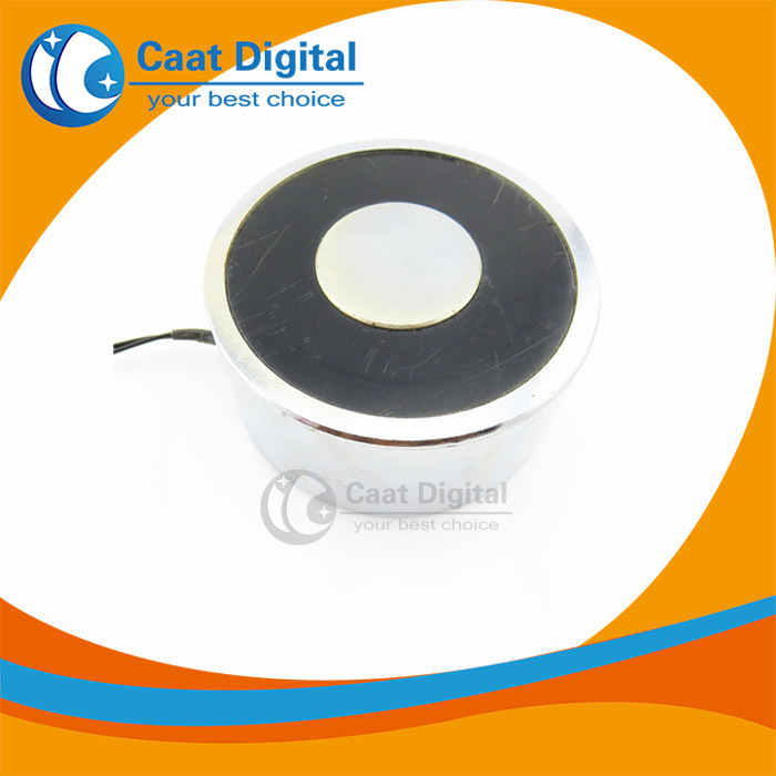 Metal 1200N(120kg) Electric Lifting Magnet Holding Electromagnet 220V DC 1200N, High quality ! metal 250n 25kg electric lifting magnet holding electromagnet 12v 24v dc 250n high quality