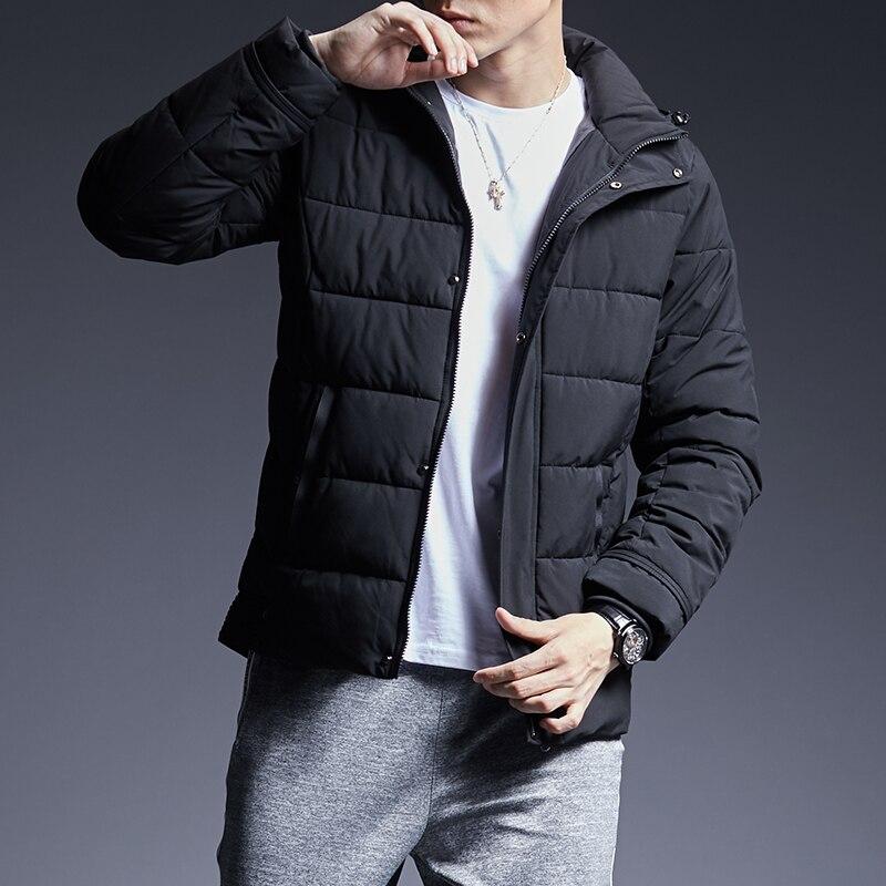 2019 Winter Fashion Brand Jacket Mens High Quality Korean ...
