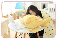 Large Plush Elephant And Blankets Toy Kids Sleeping Back Cushion Nap Blanket Elephant Doll Baby DollHoliday