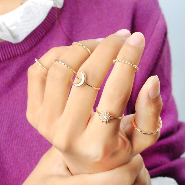 Ultra Thin Rings Set