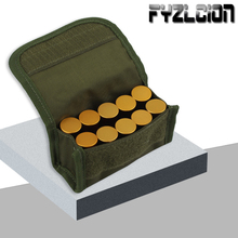 Multi-Functional Tactical MOLLE Waist Bag 10 Holes Bullet Pouch For 12G/20G Magazine Belt Shot