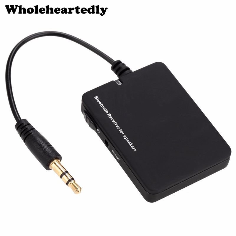 New Mini Portable Wireless 3.5mm Jack Bluetooth Receiver Audio Adapter Bluetooth Music Stereo