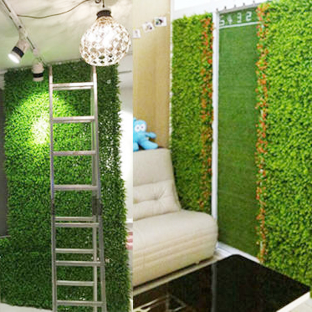 anmas home 1pcs 40 60cmgreen grass artificial turf plants garden ornament plastic lawns carpet. Black Bedroom Furniture Sets. Home Design Ideas