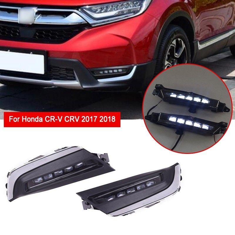 2019 New Fashion LED Running Light Bumper Fog Lamp For Honda CR V CRV 2017 2018