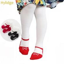 Hylidge/Леггинсы для маленьких девочек; детские колготки; нескользящие леггинсы; детские чулки для девочек; колготки для танцев с узором