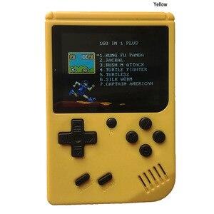 Image 4 - Console de videogame portátil 168 em 1 retrô, vídeo game para meninos 8 bits 3.0 Polegada jogo infantil lcd