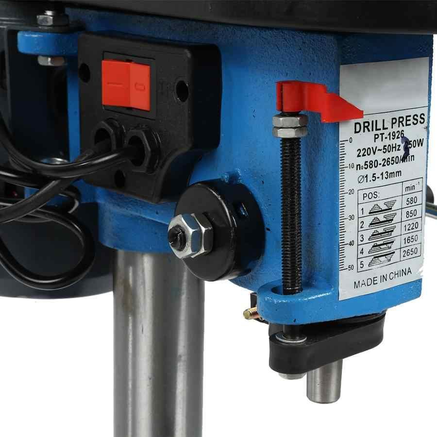 Imprensa ajustável industrial da broca da máquina da broca da tomada 220 v da tomada au da tabela da imprensa da altura da elevada precisão mini