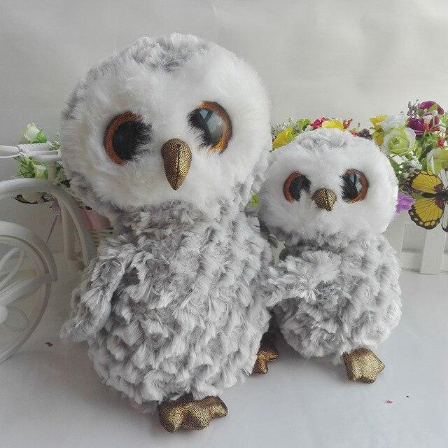 OWLETTE owl TY BEANIE BOOS One Set 25CM 10