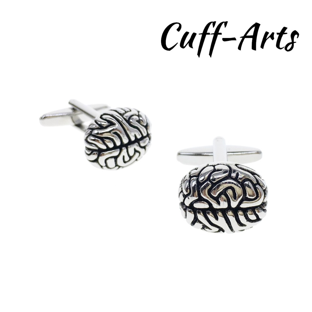 Cufflinks For Men  Brain Cufflinks Mens Cuff Jewelry Mens Gifts Vintage Cufflinks Gemelos  By Cuffarts C10352