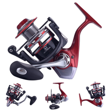 YUYU metal Fishing Reel spinning 1000 2000 3000 4000 5000 6000 7000 13+1BB no gap drive spinning reel SaltWater fishing reel 2019 summer new fashion running shoes flying woven socks women sneakers soft breathable lace up shoes ladies white shoes woman