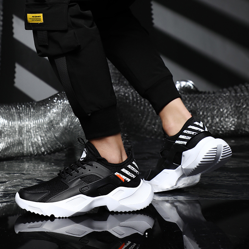 Image 3 - Plus Size 39 46 men sneakers casual dad shoes chunky Breathable Lightweight Comfortable training fashion men shoes #ABG79-in Men's Casual Shoes from Shoes