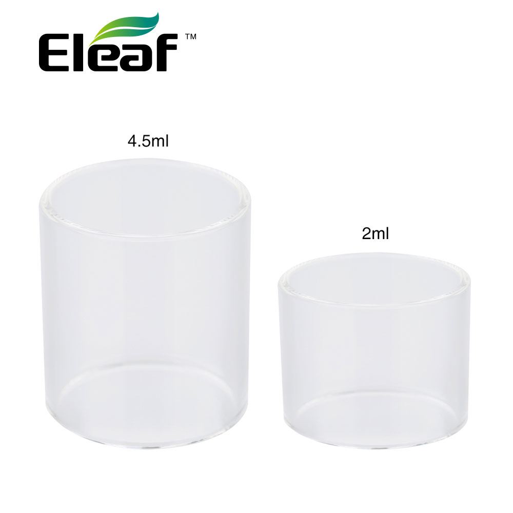 Original Eleaf Melo 4 Replacement Glass Tube 2ml/4.5ml Capacity for Eleaf Melo 4 Atomizer Melo 4 Glass Tube Ecig Vape Spare PartOriginal Eleaf Melo 4 Replacement Glass Tube 2ml/4.5ml Capacity for Eleaf Melo 4 Atomizer Melo 4 Glass Tube Ecig Vape Spare Part