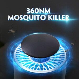 Image 2 - Лампа для уничтожения комаров, электрическая USB ловушка для насекомых, светодиодный светильник для защиты от комаров, D Gcm