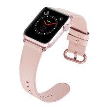 Bracelet bracelet de montre en cuir véritable pour apple Watch 4 3 2 1 38 mm 40mm, cuir vioto bracelet de montre, bracelet de 42 mm 44 mm
