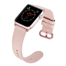 Genuine Leather Watch Band Strap For Iwatch 4 3 2 1 38 mm 40 mm , VIOTOO Leather Watch Band Strap For apple watch 42 mm 44 mm