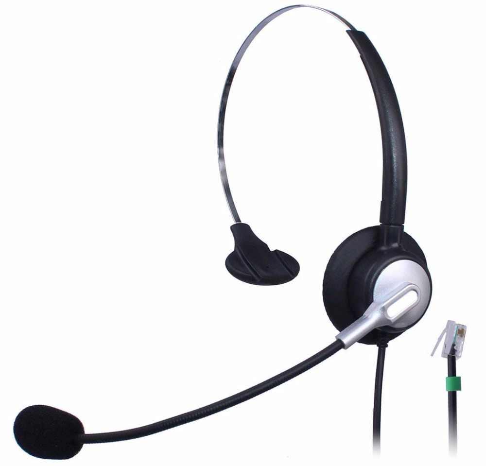 Wantek Call Center Telephone Headset For Nec Aspire Dt300 Dsx Polycom 335 400 Avaya 1416 6408d Aastra 6757i Mitel 5330 Ip Phones Aliexpress