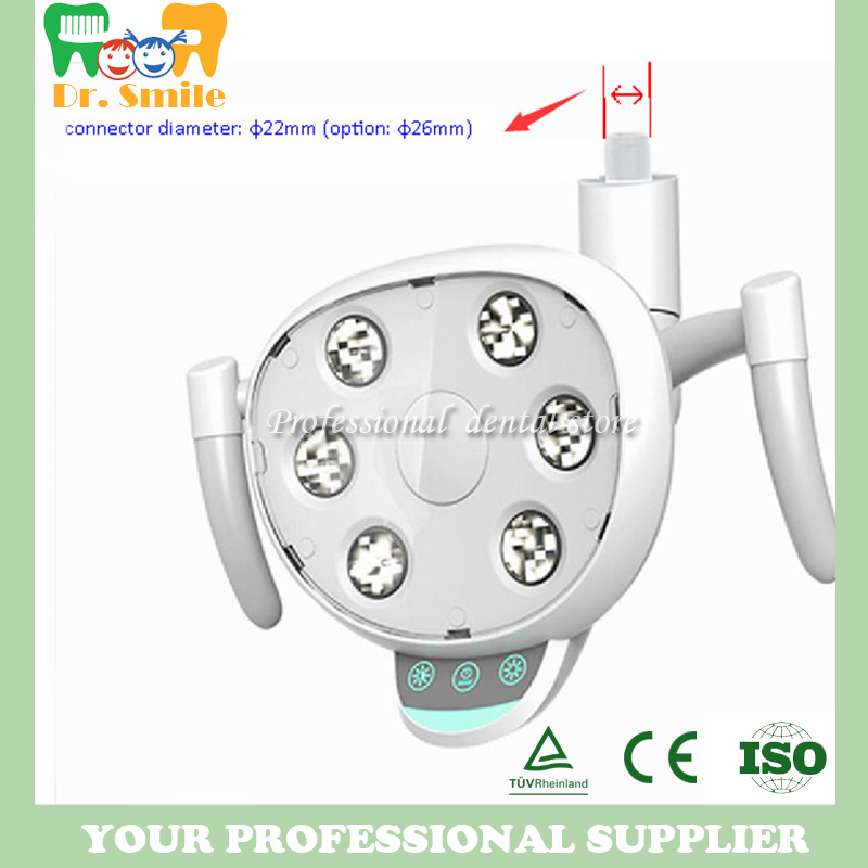 Dental LED lamp with 6 high power LEDs Oral Light Induction Lamp For Dental Unit Chair extension anderson 86 type high power human body induction switch corridor led energy saving lamp induction high power relay
